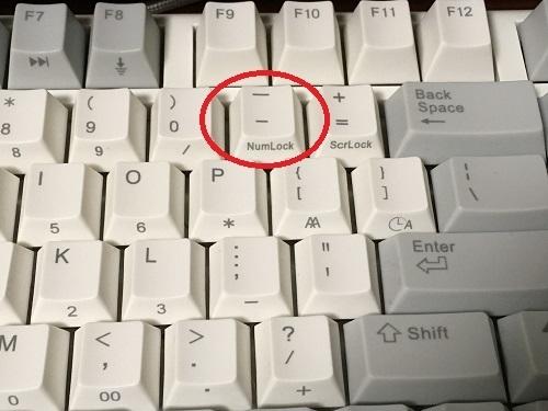 パソコン アンダーバー の 打ち 方